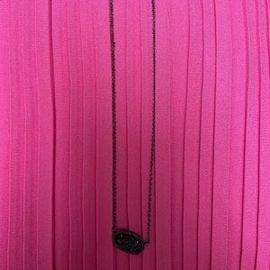 black kendra scott necklace